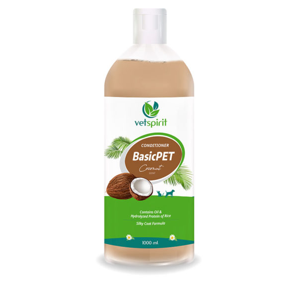 BasicPET Conditioner - Coconut - 1000 ml 1