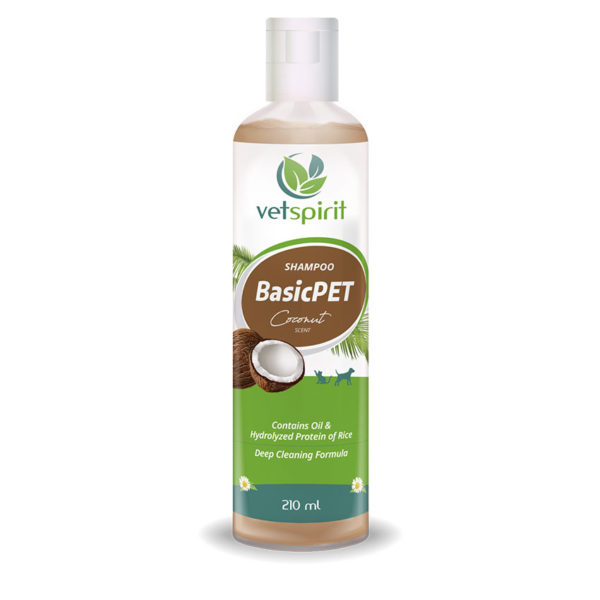 BasicPET Shampoo - Coconut - 210 ml 1